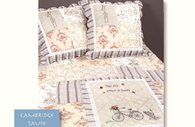Boutis Patchwork Vent Du Sud Collection Cambridge