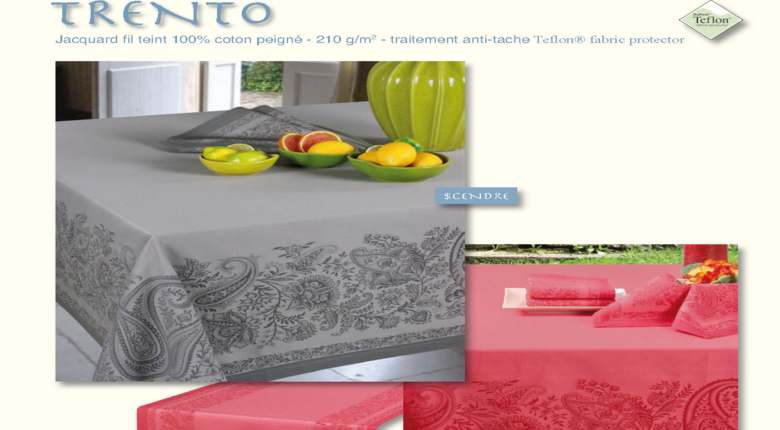Nappe de la collection Trento