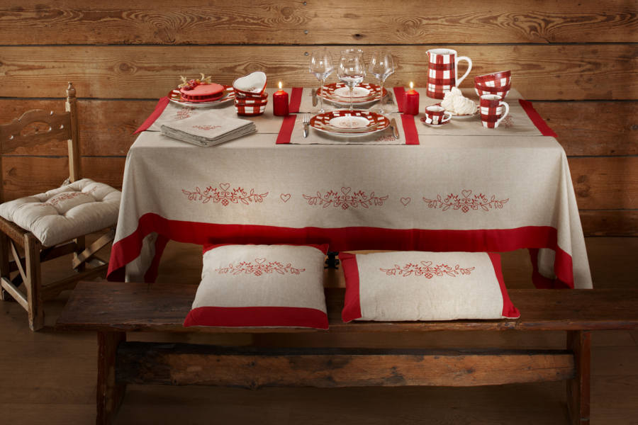 Collection linge de table CRISTIANA CHANVRE